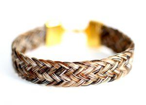 Pferdehaarschmuck-Armband