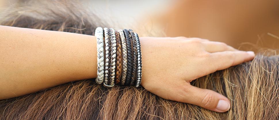 Pferdehaarschmuck Armbänder