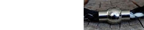 Kugel-Magnet-Verschluss aus Edelstahl