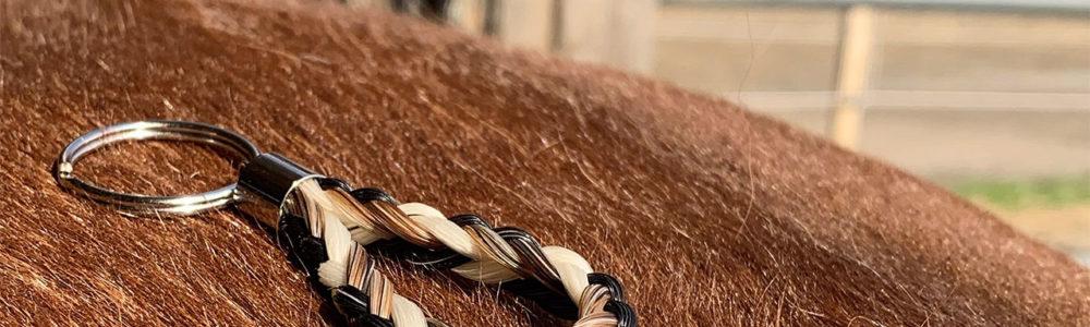 Pferdehaar Anhänger Angebot