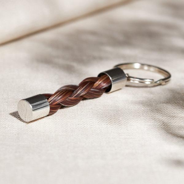 Pferdehaar-Schlüsselanhänger