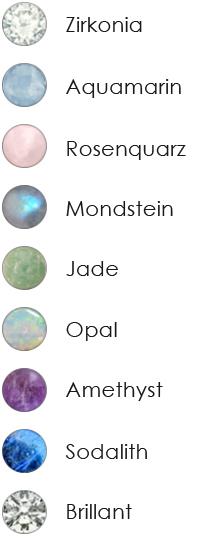 Farben Edelsteine